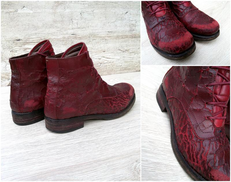 I.n.k. italy стильные и дерзкие дизайнерские ботинки ручной ра... - Фото 3