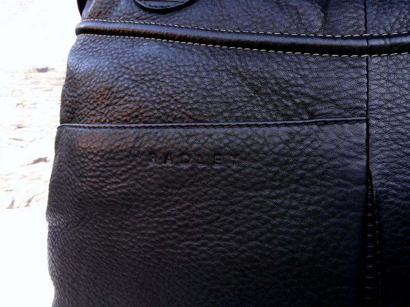 Radley кожаная сумка номерная (англия) 100% оригинал 100% нату... - Фото 6
