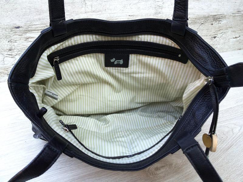 Radley кожаная сумка номерная (англия) 100% оригинал 100% нату... - Фото 9