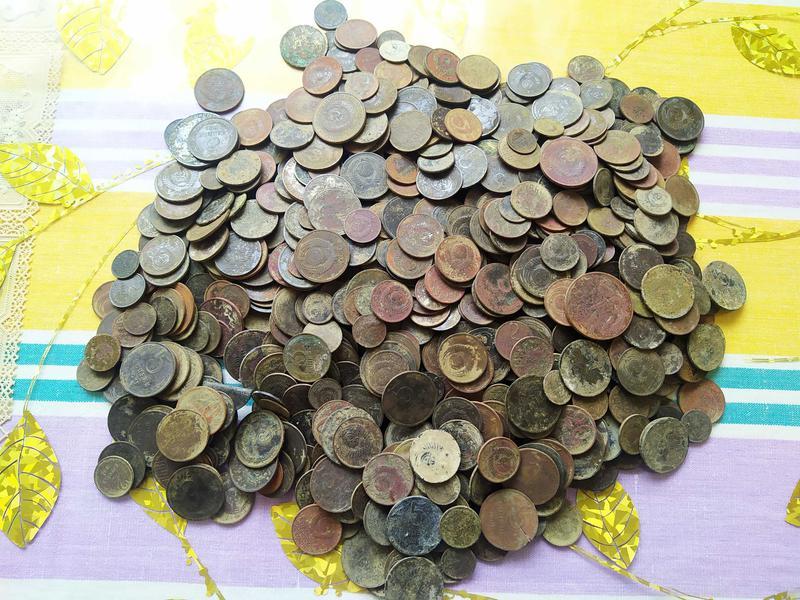 Монеты СССР 1961-1991 (944 шт)