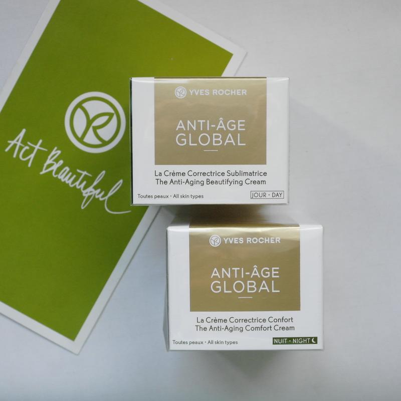Крем от морщин (30+) anti-age global анти-аж глобаль yves roch...