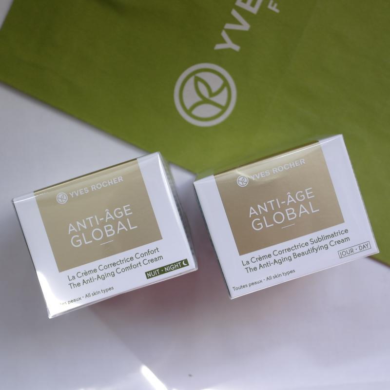 Крем от морщин (30+) anti-age global анти-аж глобаль yves roch... - Фото 6