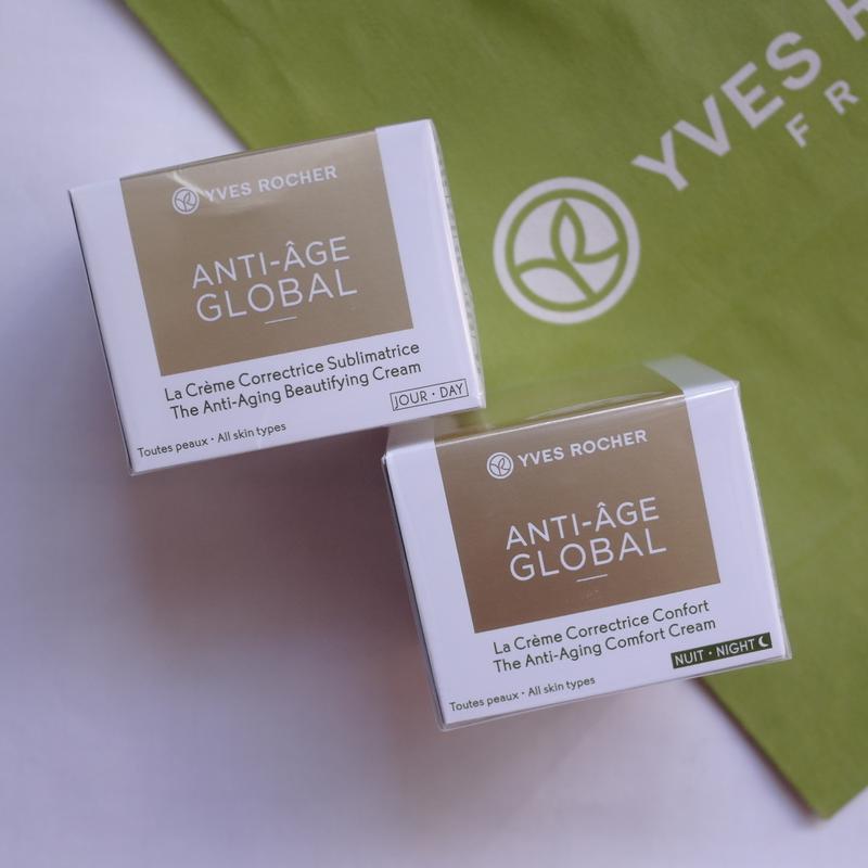 Крем от морщин (30+) anti-age global анти-аж глобаль yves roch... - Фото 7