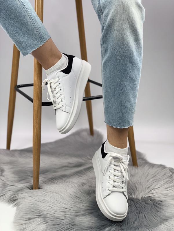 Кроссовки женские кожаные - Фото 2