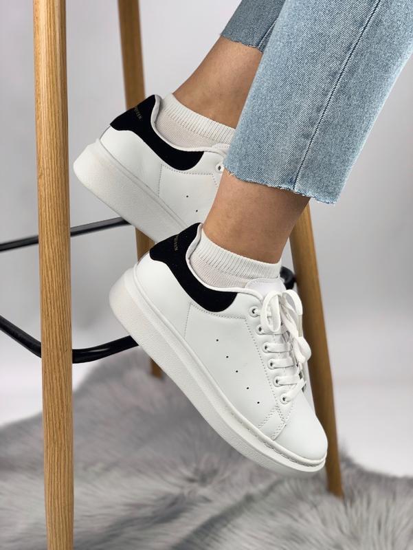 Кроссовки женские кожаные - Фото 3
