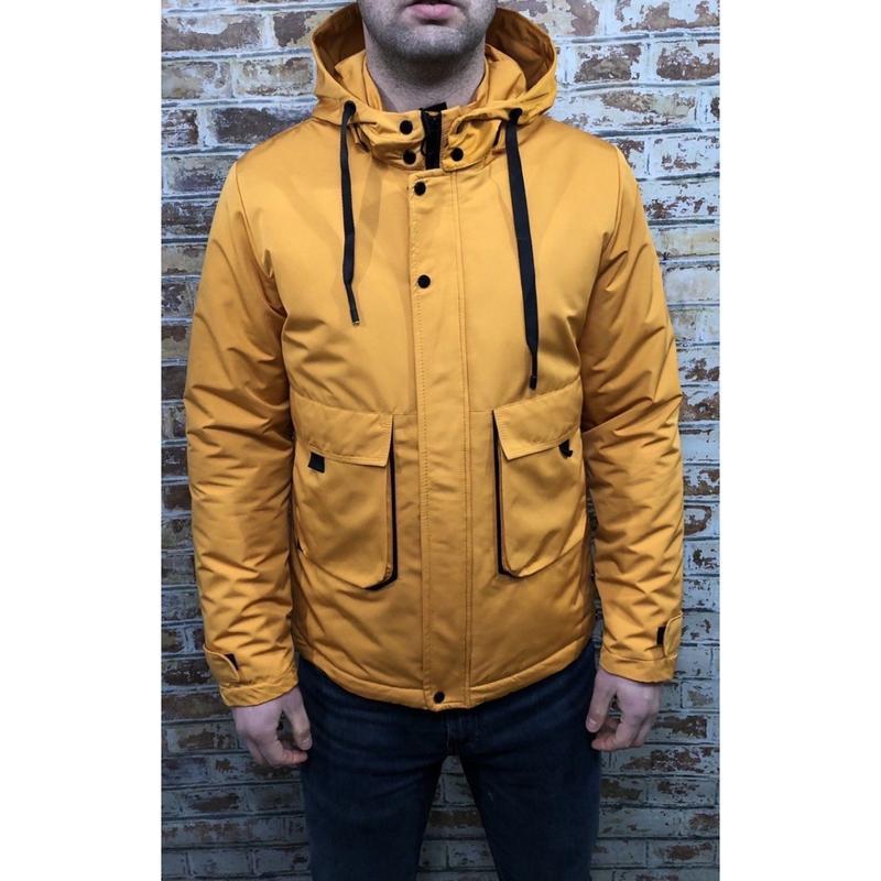 Куртка мужская демисезонная fr 8810-7 желтая