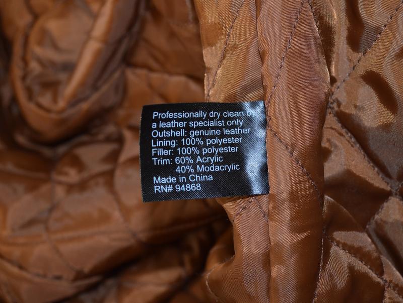 Натуральная утепленная дубленка с меховым воротником collectio... - Фото 3