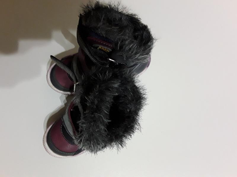 Фирменные кожаные теплые сапоги сапожки - Фото 3