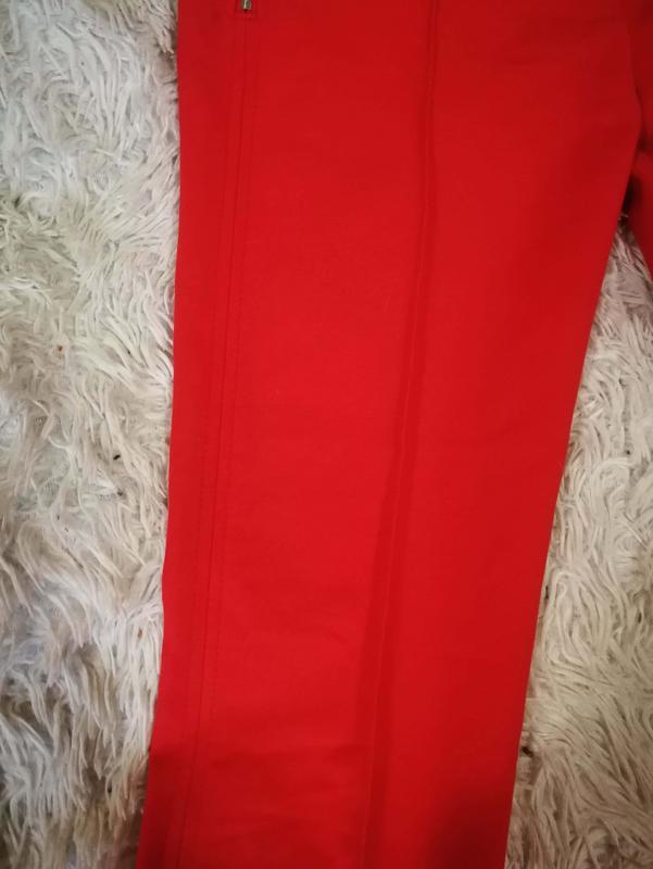 Яркие брюки со стрелкой zara р. s - Фото 3