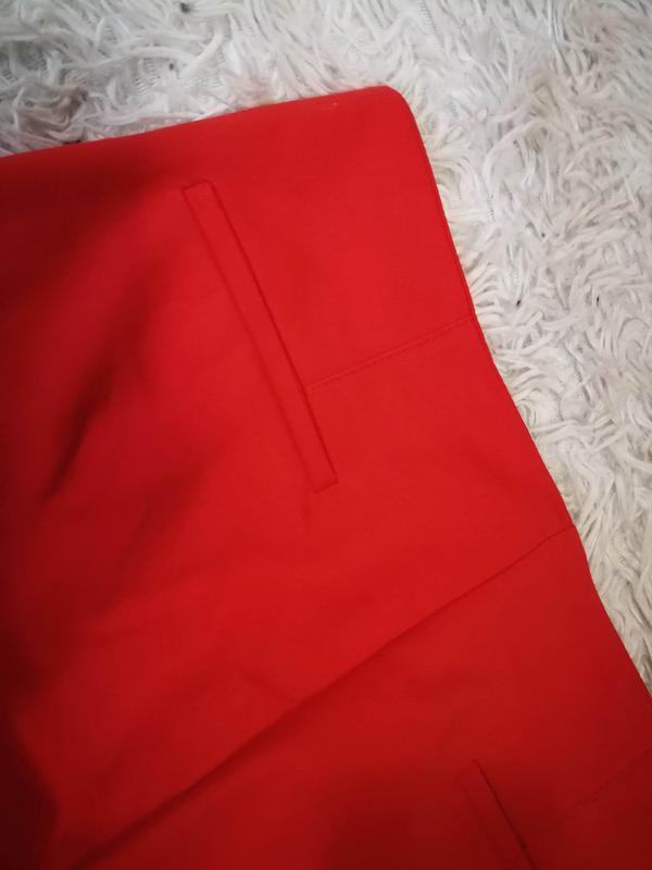 Яркие брюки со стрелкой zara р. s - Фото 4