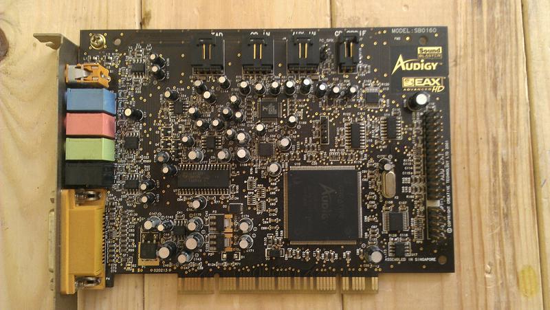 Звуковую карту 5.1 pci Creative Audigy SB0160