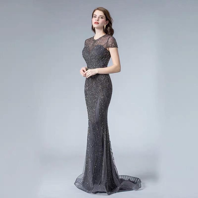 Роскошное платье рыбка - Фото 2