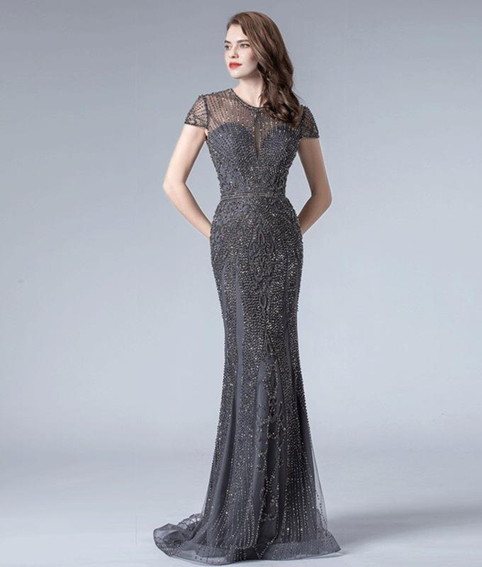 Роскошное платье рыбка - Фото 3