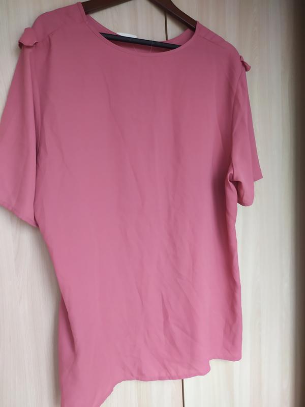Блуза с рюшами - Фото 3