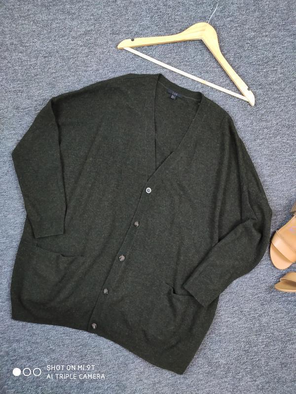 Шерстяной свитер -кардиган от cos раз.м - Фото 6