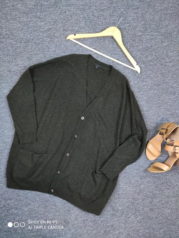 Шерстяной свитер -кардиган от cos раз.м - Фото 7