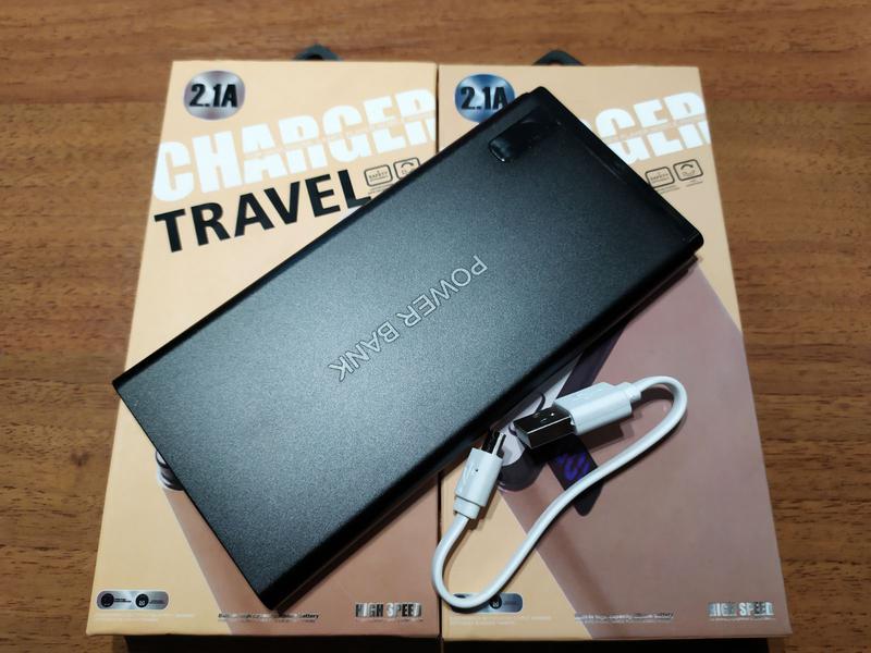 Power Bank 20000 mAh Павер банк внешний аккумулятор с индикатором - Фото 3