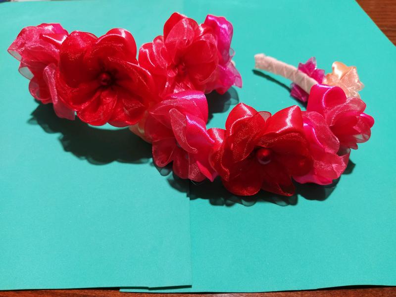 Банты, резинки, обручи - Фото 2