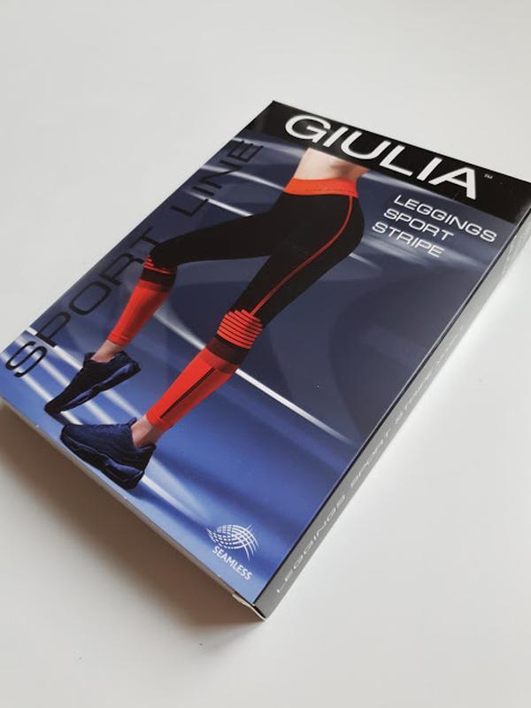 Женские лосины леггинсы для фитнеса спорта giulia - Фото 2