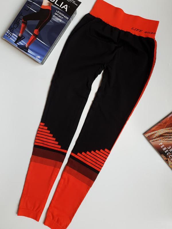 Женские лосины леггинсы для фитнеса спорта giulia - Фото 3