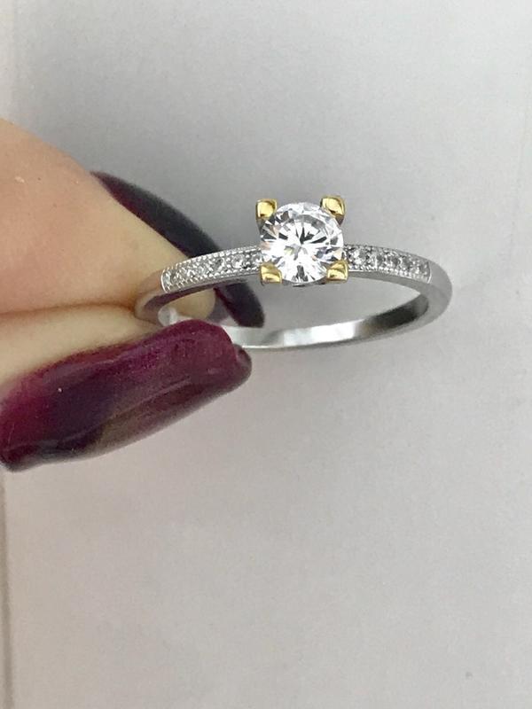 Кольцо серебро 925 пробы 44127