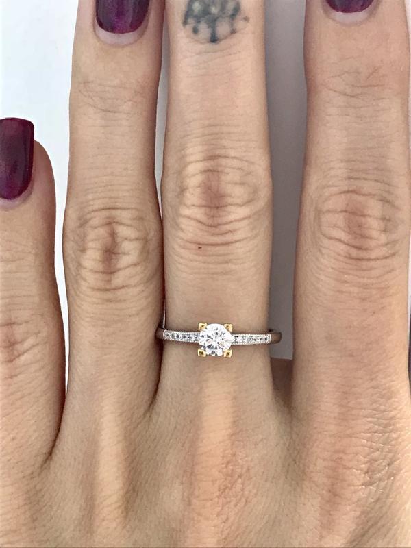Кольцо серебро 925 пробы 44127 - Фото 4
