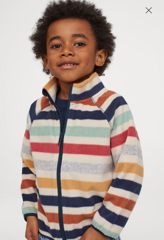 Флиска (флисовая кофта) h&m для мальчика и девочки  7-8 лет