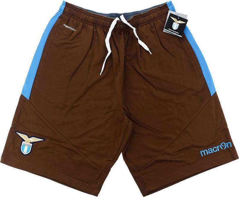 Lazio macron training sweat shorts шорты лацио футбол италия м