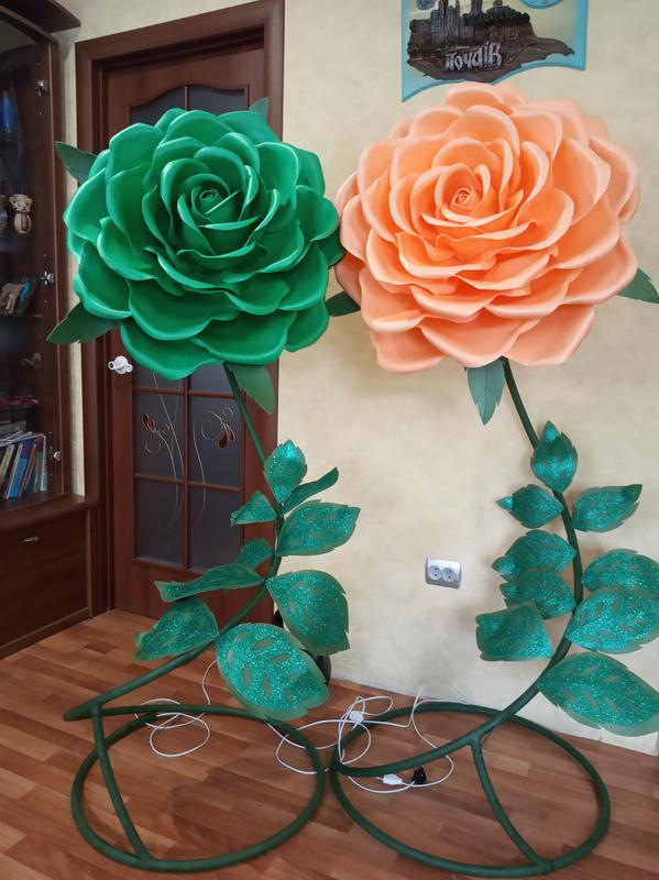 Светильник-роза - Фото 2