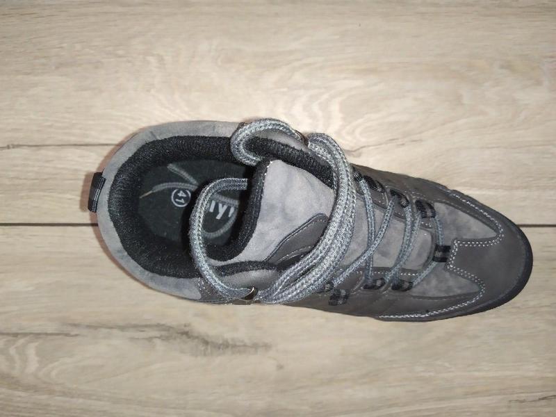 Раняя весна на флисе ботинки теплые мужские - Фото 2