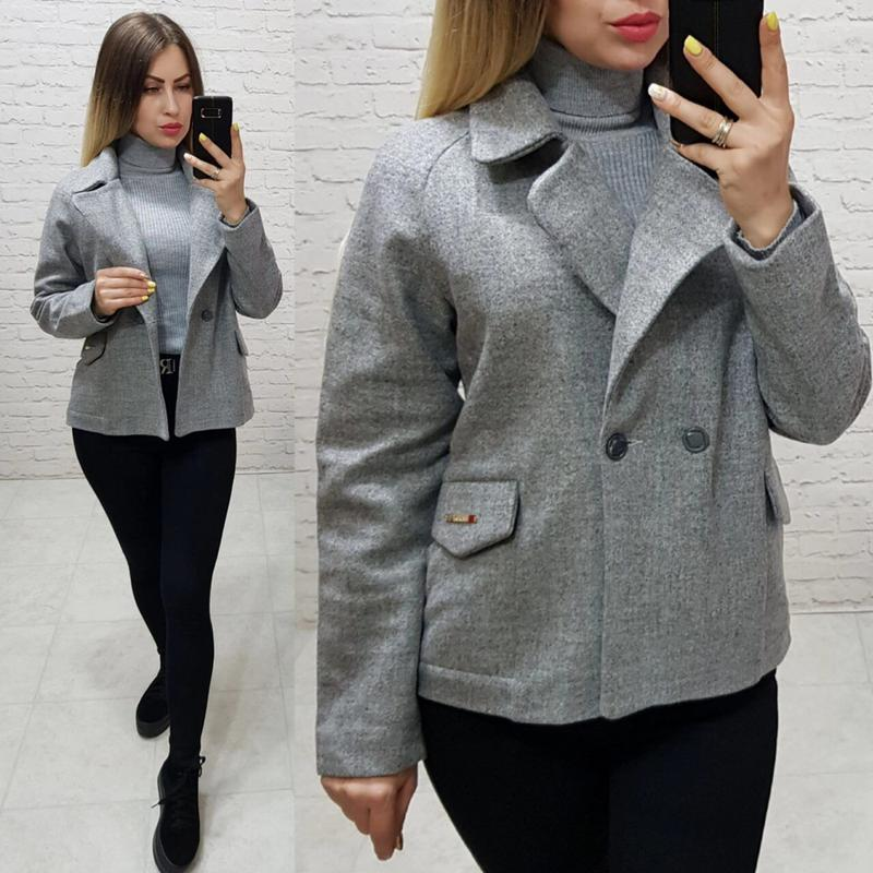 Модное укороченное пальто на весну - Фото 6