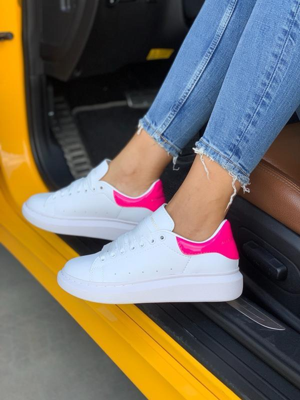 Кроссовки женские mcqueen pink