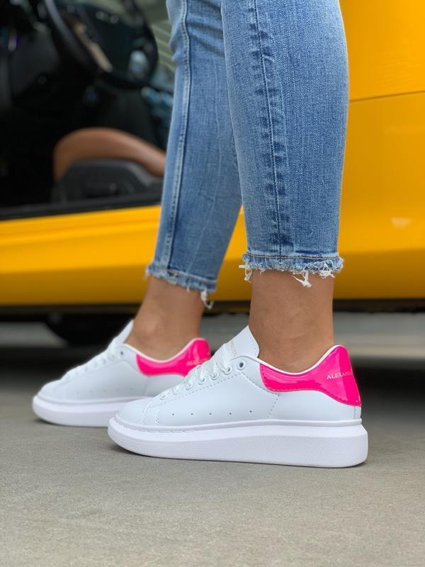 Кроссовки женские mcqueen pink - Фото 3