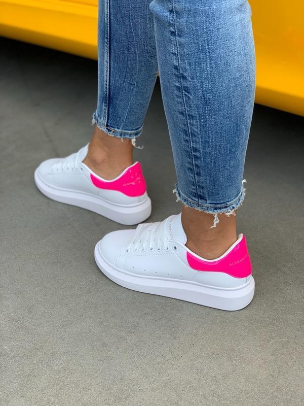 Кроссовки женские mcqueen pink - Фото 5