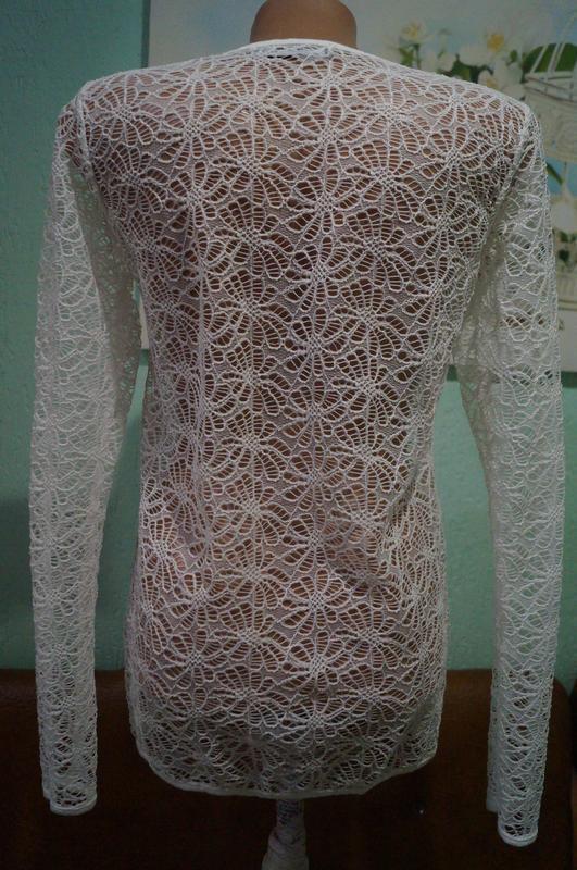 Кружевная блуза р.м,бренд  sisters - Фото 6