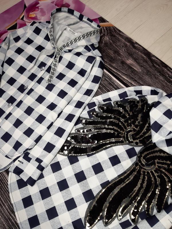 Туника - рубашка - Фото 2