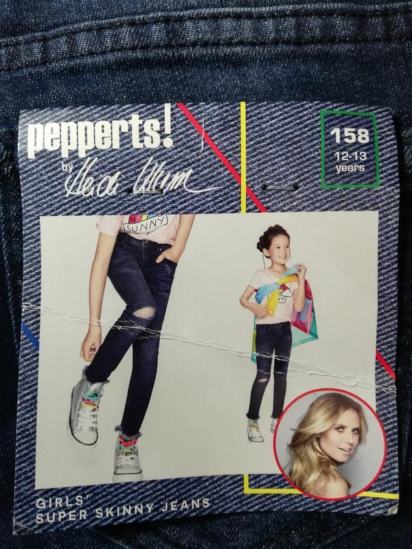 Классные джинсы подростковые 158-164 pepperts by heidi klum, г... - Фото 3