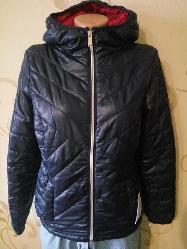 Alcott . приталенная куртка осень - еврозима с капюшоном . нов... - Фото 2