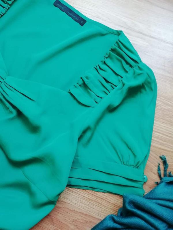 Женская легкая яркая брендовая блуза next - размер 46 - Фото 2