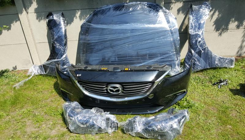 Б/у Капот Mazda 6 - Фото 3