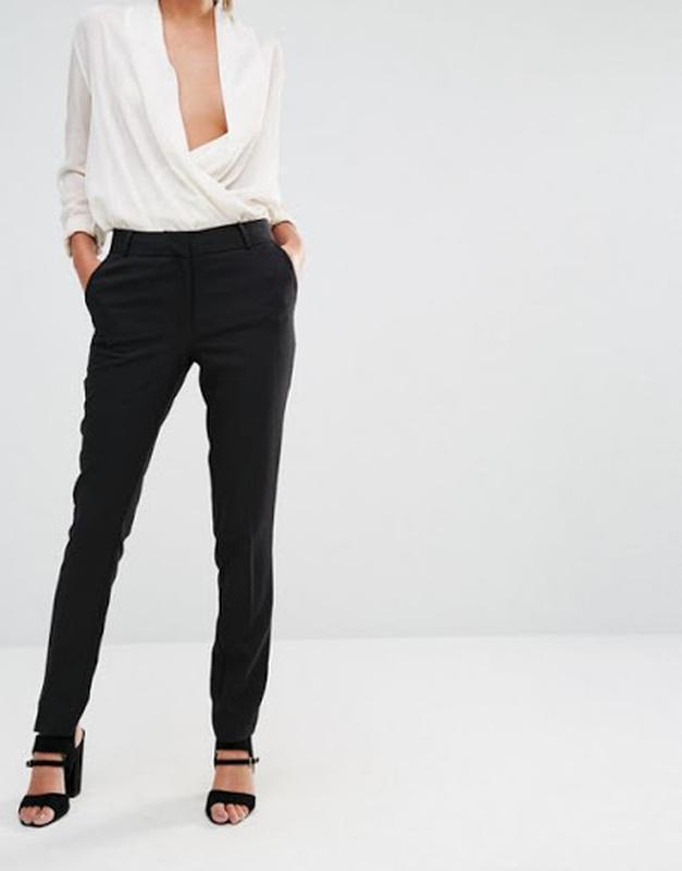Классические зауженные брюки new look размер 16