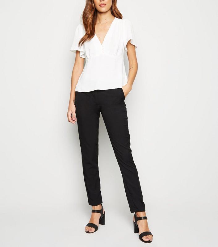 Классические зауженные брюки new look размер 16 - Фото 7