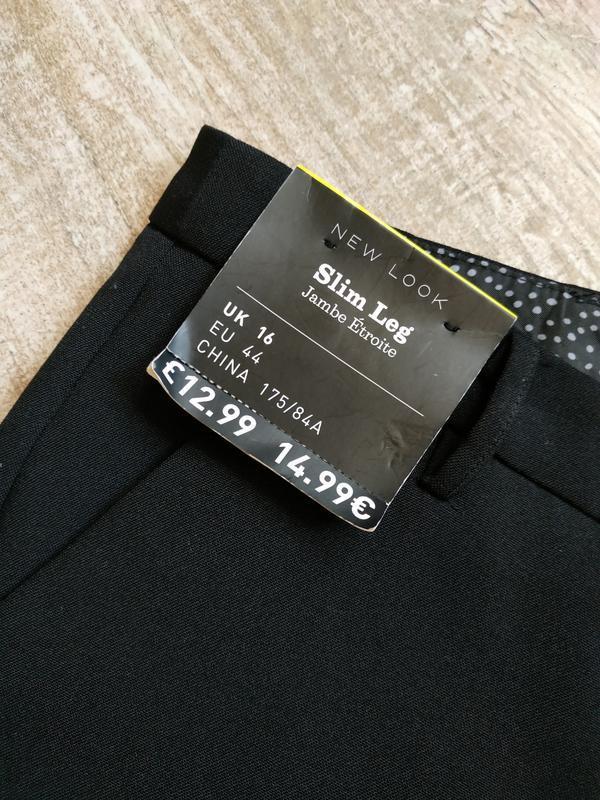 Классические зауженные брюки new look размер 16 - Фото 8