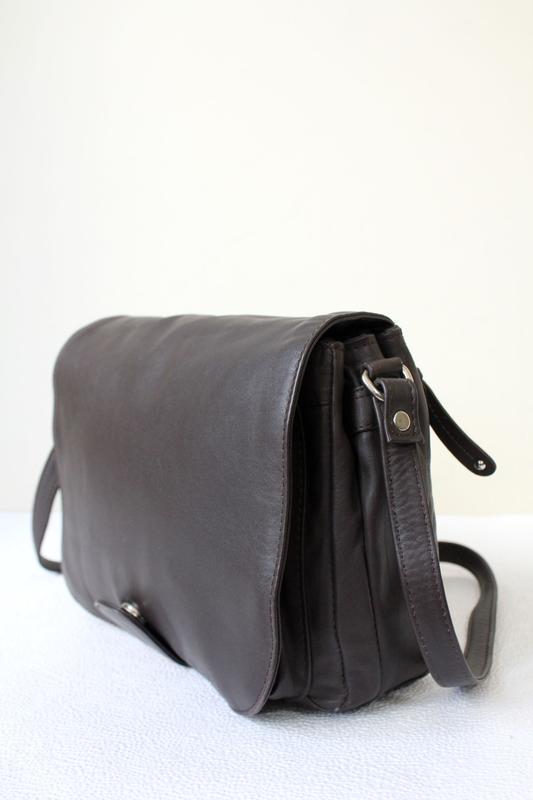 Кожаная сумка prato ,италия - Фото 2