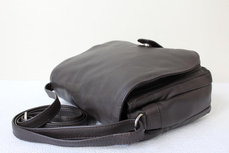 Кожаная сумка prato ,италия - Фото 4