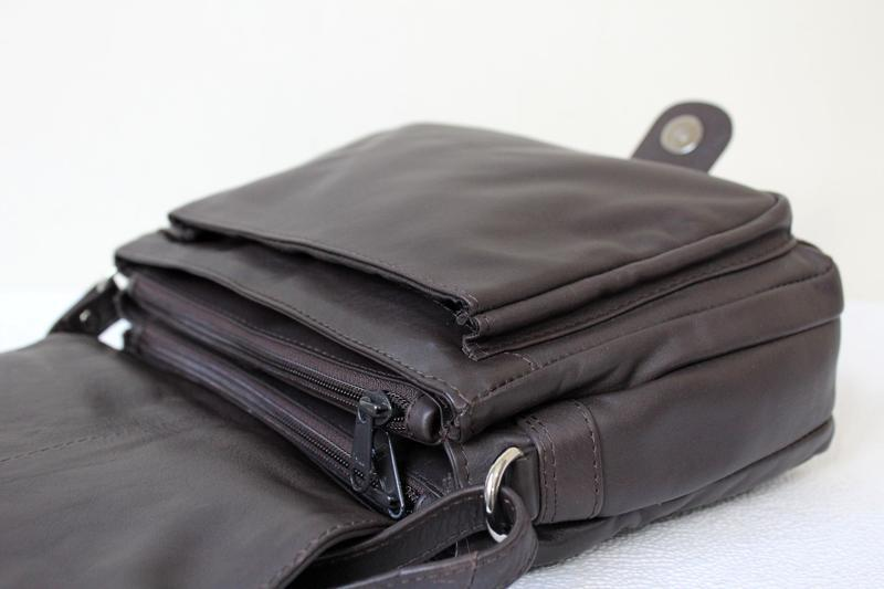 Кожаная сумка prato ,италия - Фото 5