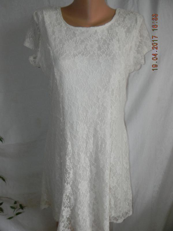 Кружевное платье peacoks