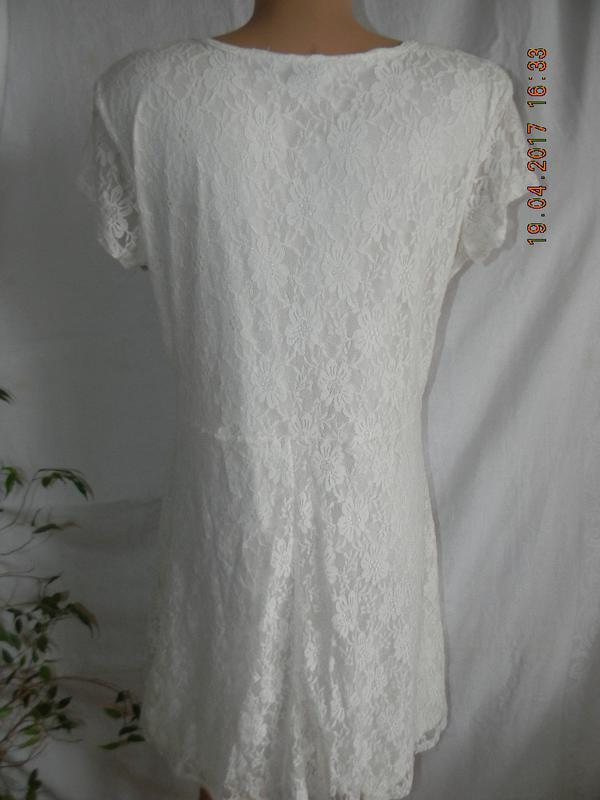 Кружевное платье peacoks - Фото 2