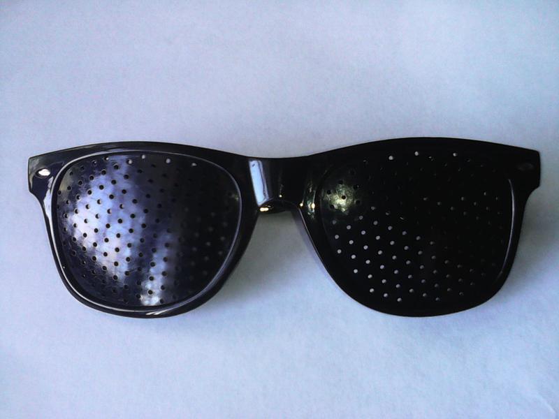 Перфорационные очки-тренажеры (Дырчатые, Федорова). Аналог HeaFly