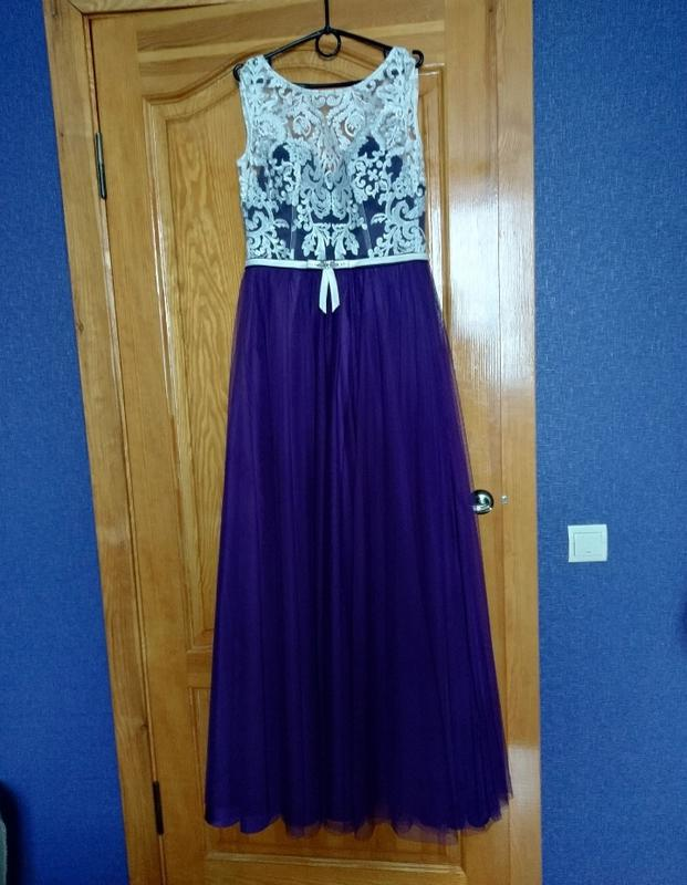 Шикарное выпускное платье в пол - Фото 3